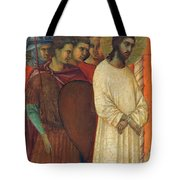 Christ Before Pilate Fragment 1311 Tote Bag