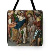 Christ Before Pilate Tote Bag