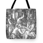 Christ Being Crowned With Thorns 1510 Tote Bag