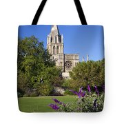 Christ Church Cathedral Oxford University Uk Tote Bag