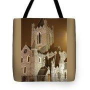 Christ Church Dublin Ireland Tote Bag