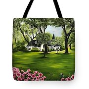 Christ Church, St. Simons Island Ga Tote Bag