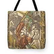 Christ Crowned With Thorns Tote Bag