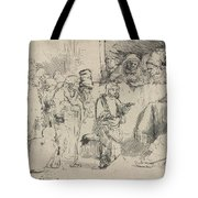 Christ Disputing With The Doctors: A Sketch Tote Bag