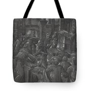 Christ Disputing With The Doctors Tote Bag