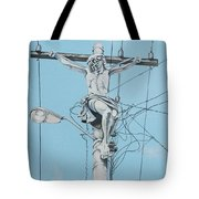 Christ From Mexico Tote Bag