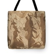 Christ Healing The Paralytic Tote Bag