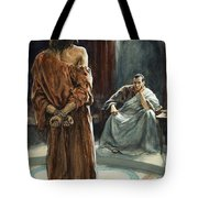 Christ In Front Of Pontius Pilate Tote Bag