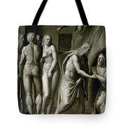 Christ In Limbo Tote Bag