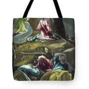 Christ In The Olive Garden Tote Bag