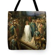 Christ Leaves His Trial Tote Bag by Gustave Dore