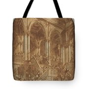Christ Led Captive From A Palace Tote Bag