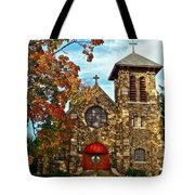 Christ My Solid Rock Tote Bag