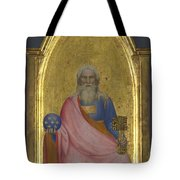 Christ Of The Apocalypse   Central Pinnacle Panel Tote Bag
