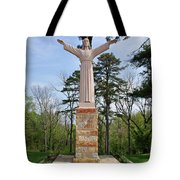 Christ Of The Ohio Tote Bag
