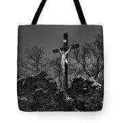 Christ On The Cross 002 Tote Bag