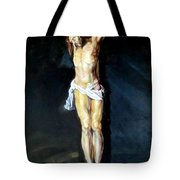 Christ On The Cross After Peter Paul Rubens Tote Bag