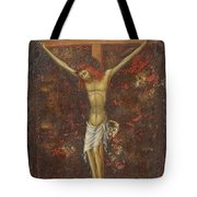 Christ On The Cross  Tote Bag