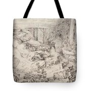 Christ On The Mount Of Olives 1521 Tote Bag