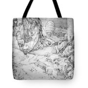 Christ On The Mount Of Olives 1524 Tote Bag