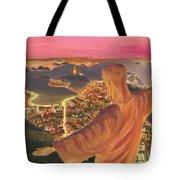 Christ Over Rio Tote Bag