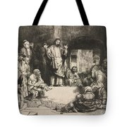 Christ Preaching (la Petite Tombe) Tote Bag