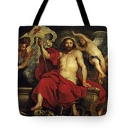 Christ Triumphant Over Sin And Death Tote Bag