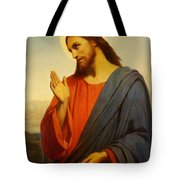 Christ Weeping Over Jerusalem Tote Bag