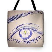 Christian Eye Tote Bag