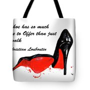 Christian Louboutin Shoes 4 Tote Bag