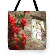 Christian Plaque Tote Bag