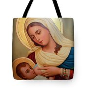 Christianity - Baby Jesus Tote Bag