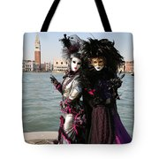 Christine And Gunilla Across St. Mark's  Tote Bag