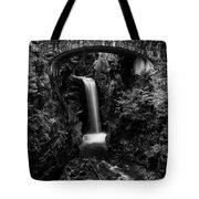 Christine Falls - Mount Rainer National Park - Bw Tote Bag