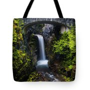 Christine Falls - Mount Rainer National Park Tote Bag