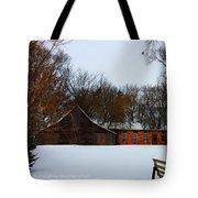 Christmas @ The Barn Tote Bag