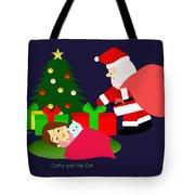 Christmas #2 No Text Tote Bag