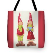Christmas 2017 Happy Couple Tote Bag