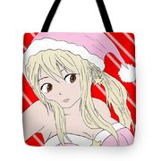 Christmas Anime Tote Bag