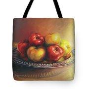 Christmas Apples Tote Bag
