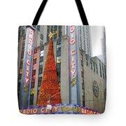Christmas At Radio City Music Hall Tote Bag