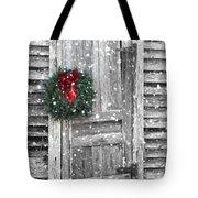 Christmas At The Farm Tote Bag
