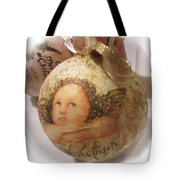 Christmas Ball , Angels Tote Bag