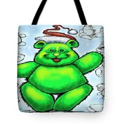 Christmas Bear Tote Bag