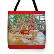 Christmas Bears Tote Bag
