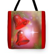 Christmas Bells Tote Bag