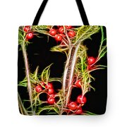 Christmas Berries Tote Bag