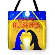 Christmas Blessings 5 Tote Bag