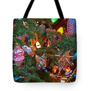 Christmas Bling #4 Tote Bag