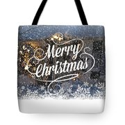 Christmas Blizzard Tote Bag